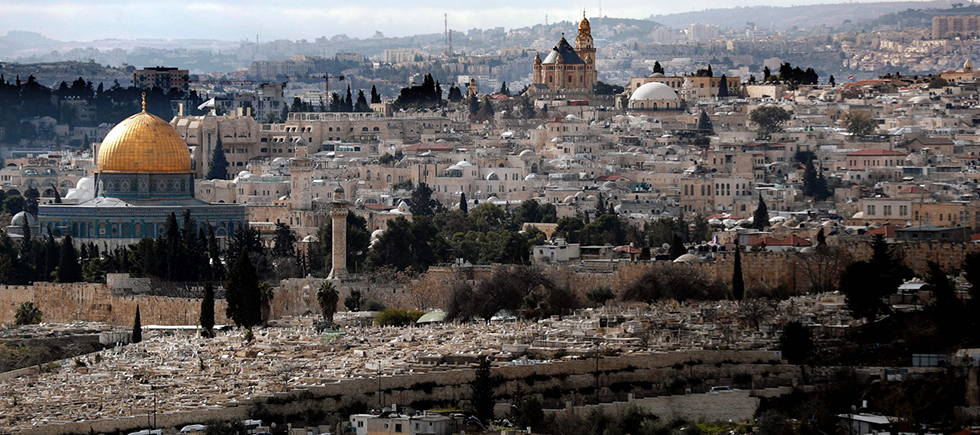 Returning the annexed Palestinian villages and neighborhoods to the area designated for Palestine, as the basis for Palestinian Jerusalem, is the solution Israel should propose to Trump (Photo: AFP) (צילום: AFP)