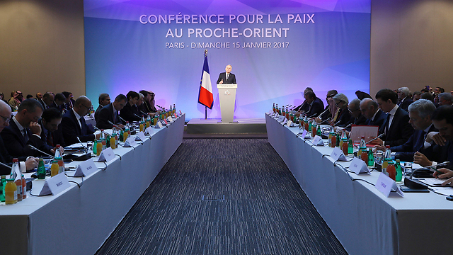 Paris peace conference. The Palestinian leadership doesn't need an American-French prom, but someone who will know how to bring it back to the negotiating table (Photo: AFP)