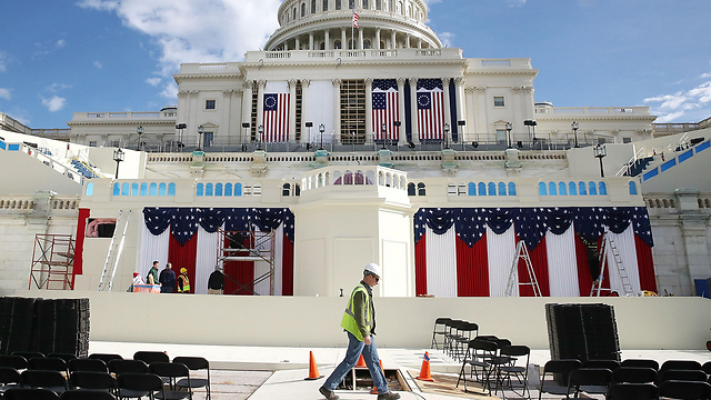 Preparations for Trump's inauguration. A future Democratic administration, especially if it is filled with Jews, may be so oppositional to Israel that it will make us miss Obama (Photo: AFP)