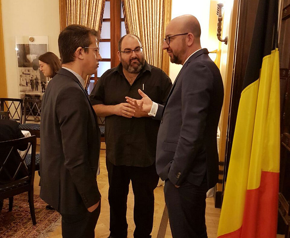 Belgian Prime Minister Charles Michel's meeting with Breaking the Silence and B'Tselem leaders. A slap in the face