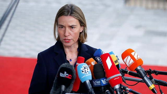 EU top diplomat Mogherini said the deal 'belonged to the entire international community' (Photo: Reuters)