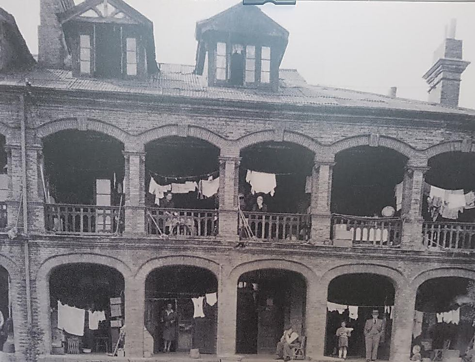 The Jewish ghetto in China, under Japanese occupation. Refused to apply the 'final solution'