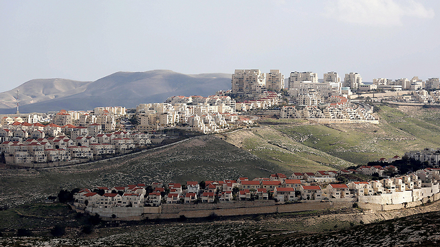 The West Bank settlement of Ma'ale Adumim (Photo: AFP) (Photo: EPA)