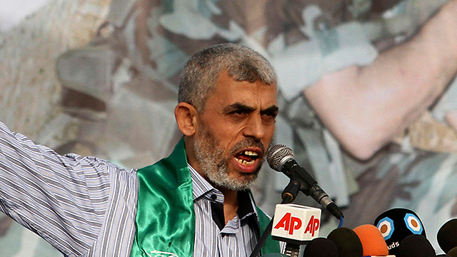 Hamas leader Yahya sinwar (Photo: AP)