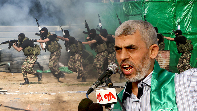 Hamas leader Yahya Sinwar (Photo: AP, EPA) (Photo: AP/EPA)