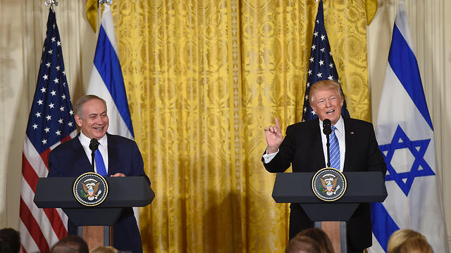 Netanyahu and Trump at the White House (Photo: AFP)
