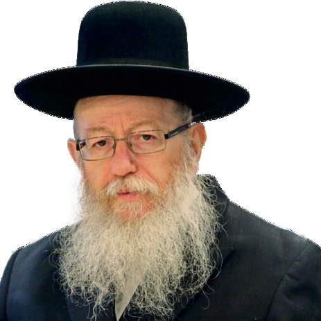 Health Minister Litzman (Photo: Alex Kolomoisky)