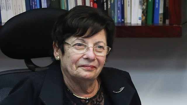 Chief Justice Naor decided against judiciary participation in the ceremony (Photo: Ohad Zwigenberg) (Photo: Ohad Zwigenberg)