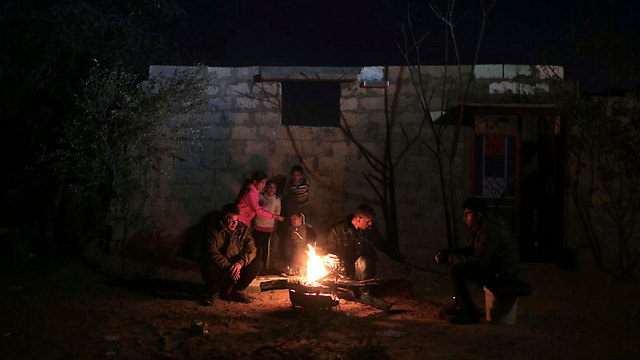 Gaza without electricty (Photo: AP)