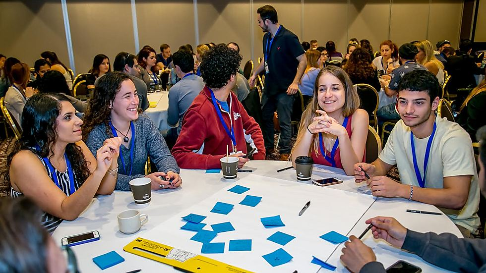 Young Israeli Americans at an IAC activity (Photo: Israeli-American Council)