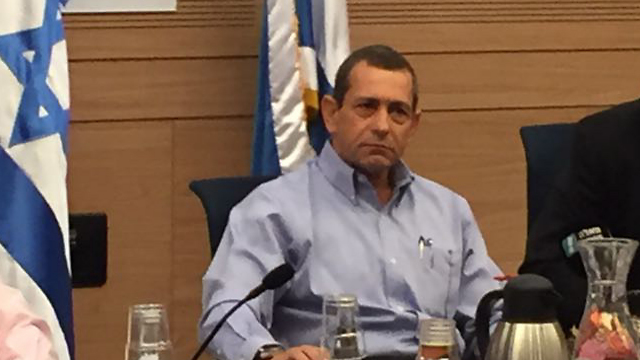 Shin Bet Director Argaman appearing before the Knesset's Foreign Affairs and Defense Committee (Photo: Gil Yohanan) (Photo: Gil Yohanan)