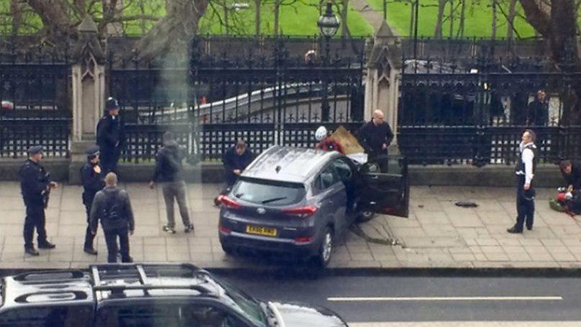 Shooting outside British Parliament