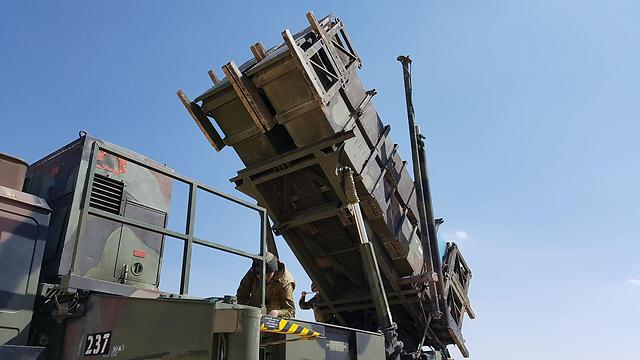 File photo, Patriot anti-aircraft missile system (Photo: Roi Idan)