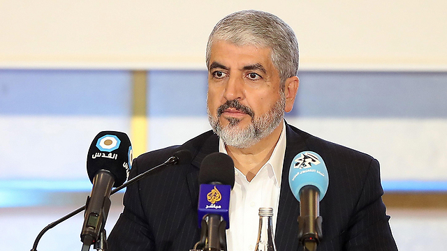 Khaled Mashaal, a Hamas member who resides in Qatar (Photo: AFP) (Photo: AFP)