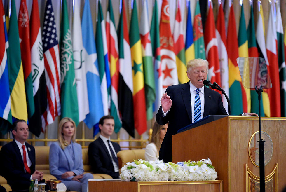 Trump spoke about Iran's support and funding of terror, but there is only one country which does it more than Iran—Saudi Arabia (Photo: AFP)