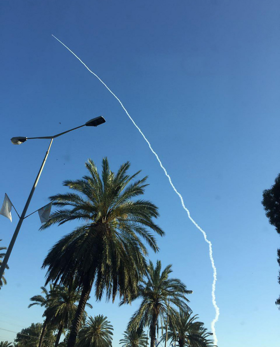 Missile test launch Monday morning