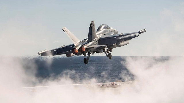 (צילום: USS George H.W. Bush Facebook) (צילום: USS George H.W. Bush Facebook)