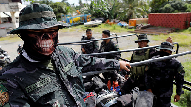 The battle to free Marawi City from ISIS jihadists (Photo: Reuters) (Photo: Reuters)