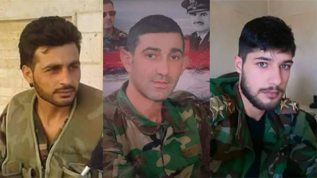 Three Syrian army soldiers reported to have been killed by Israeli fire