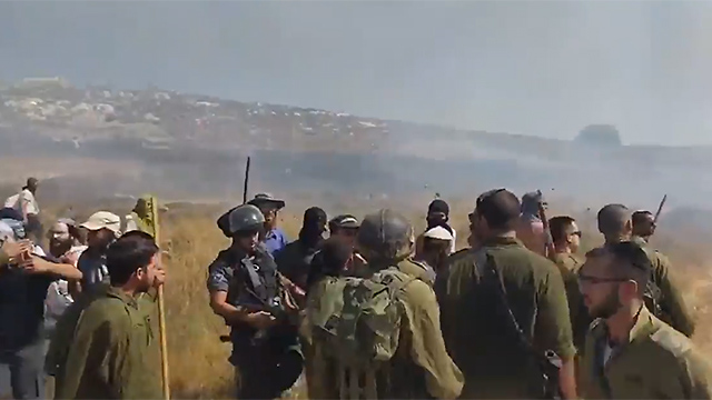 Skirmishes with IDF troops