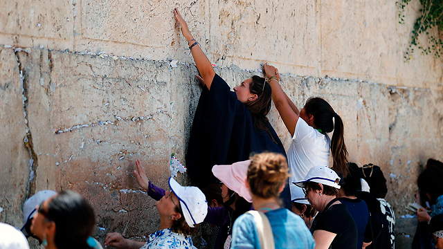 Women praying at the Western Wall. 'It's sad to see everything we have worked for together falling apart' (Photo: AFP)