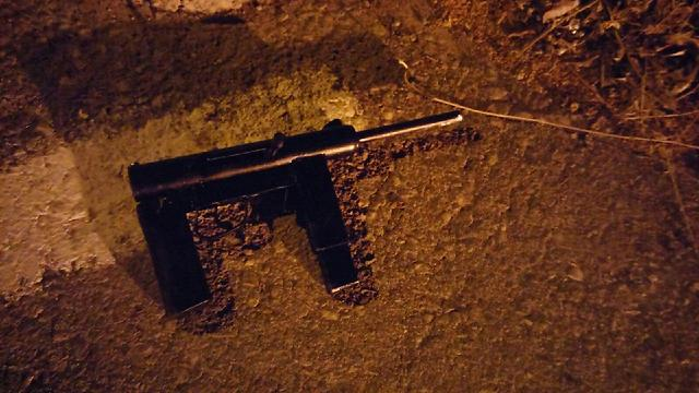 The weapon carried by the neutralized terrorist