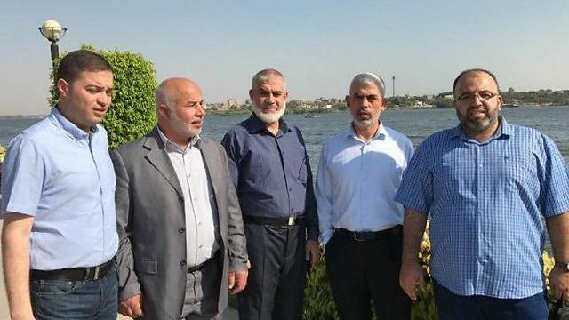 A Hamas delegation to Egypt, without which Dahlan claimed no reconciliation would have been possible