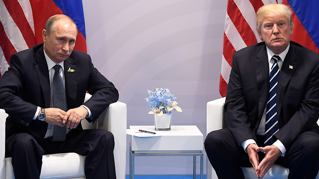 Putin and Trump meeting during G-20 summit (Photo: AFP)