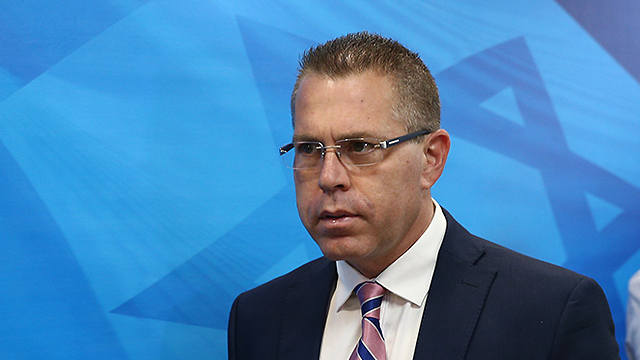 Minister Erdan. 'Since the ministry began leading this war, boycott organizations have been under constant pressure' (Photo: Ohad Zwigenberg) (Photo: Ohad Zwigenberg)
