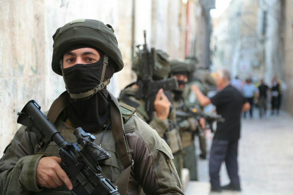 Security forces in Jerusalem's Old City following Friday's attack at the Lion's Gate (Photo: Israel Police)