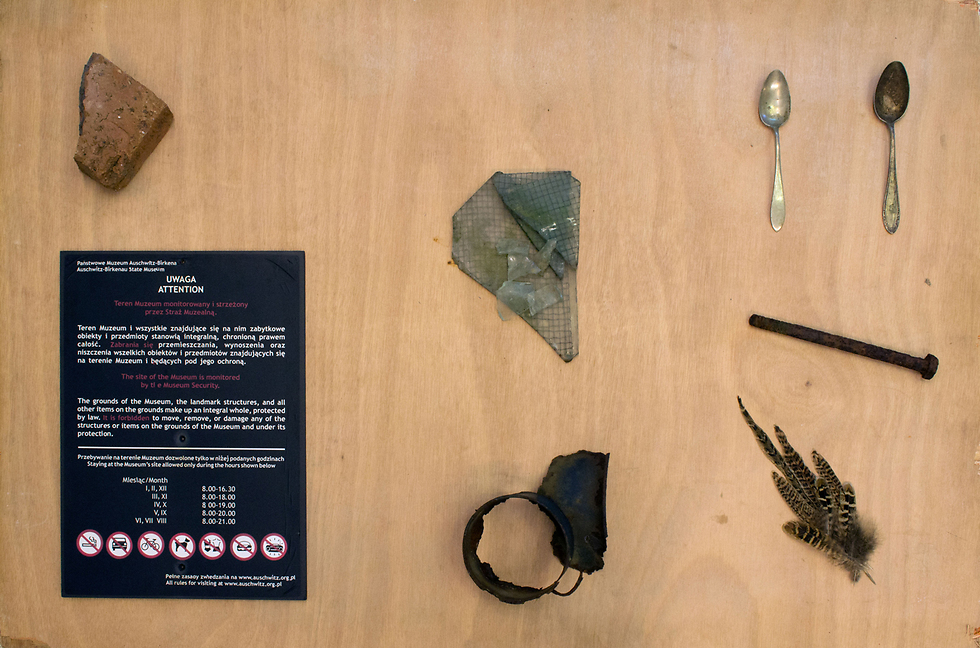 Some of the items displayed in the controversial exhibition