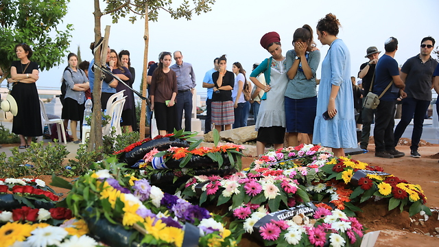 The Salomon family funerals (Photo: Tal Shahar)