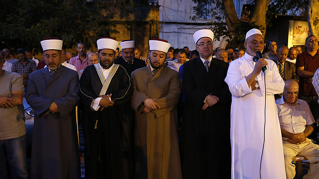 For years, even if some of the Muslim religious leaders voiced radical statements against Israel, behind the scenes they engaged in horse-trading with us (Photo: AFP)