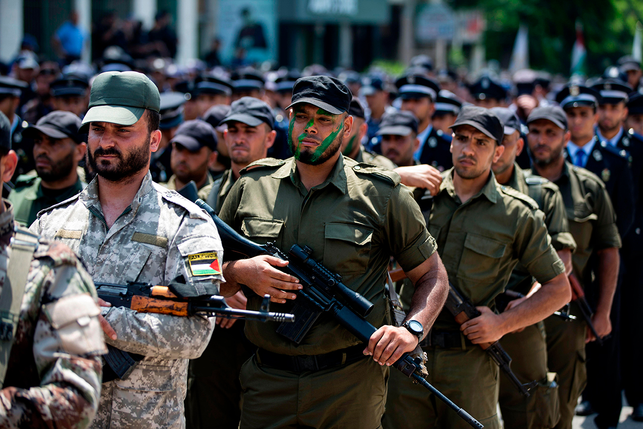Will Hamas give up its military wing? (Photo: AFP)