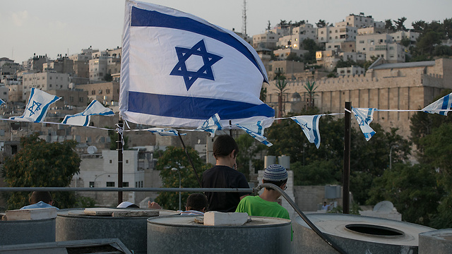 Will we be here and the settlers 'there'? (Photo: Ohad Zwigenberg)