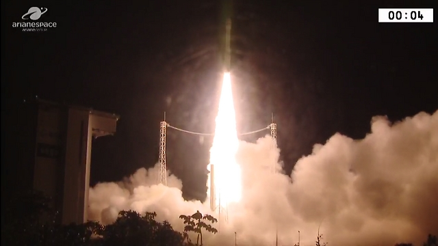 The moment of Venus's launch in French Guinea Wednesday morning (Photo: CNES) (Photo: CNES)