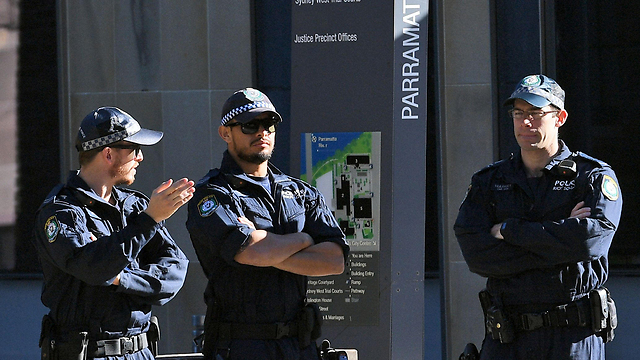 Raid of the suspects' homes in Sydney (Photo: AFP)