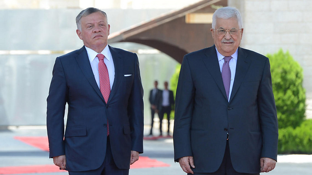 Abbas and King Abdullah. Meeting in Jordan on Monday (Archive photo: Getty Images) (Photo: Getty Images)