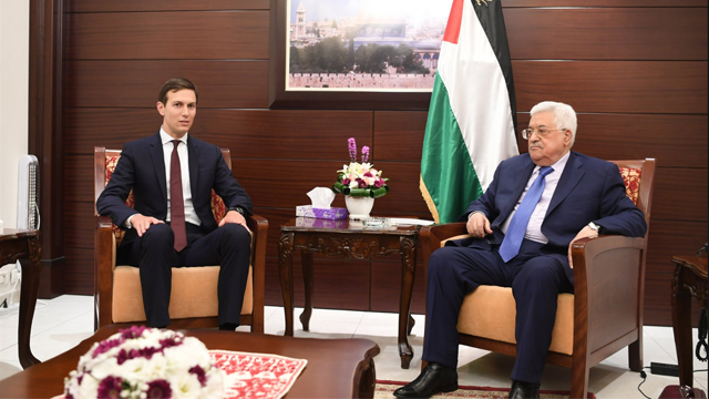 Kusher met with Palestinian President Abbas