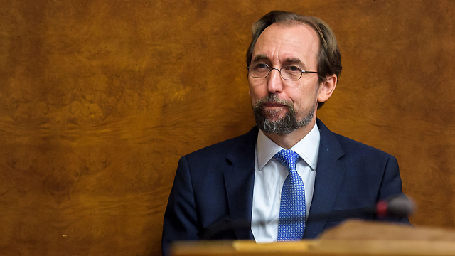 UN High Commissioner for Human Rights al-Hussein warned Israeli companies of his office's intention to publish a blacklist of firms operating in West Bank (Photo: AFP)