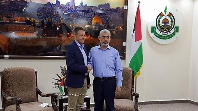 Maurer and Sinwar meet in Gaza