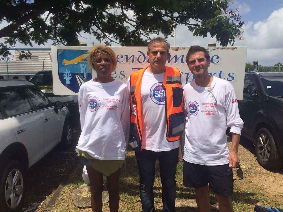 Rescuers Without Borders volunteers (Photo: SSF)