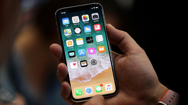 The new iPhone X boasts impressive facial recognition capabilities originating in Israel (Photo: AFP) (Photo: AFP)