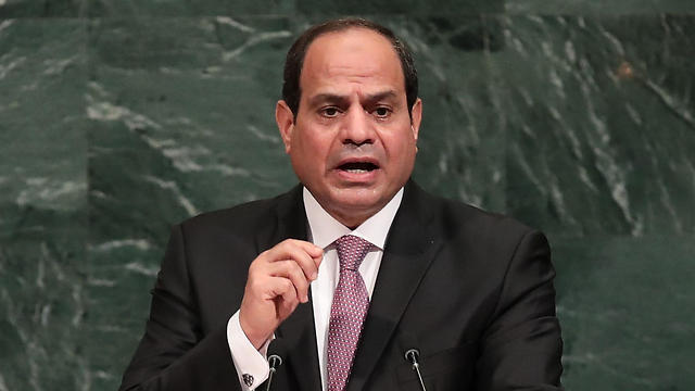 El-Sisi said Palestinian reconciliation and future peace with Israel were inextricably linked (Photo: AFP)