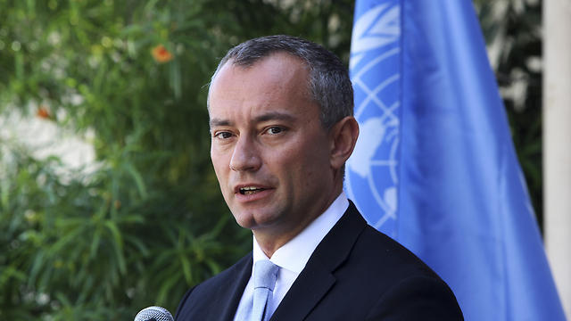 UN Envoy to the Middle East Mladenov urged Israel to show 'maximum restraint' and Palestinians to 'avoid friction' during protests at the Gaza-Israel border (Photo: AP)