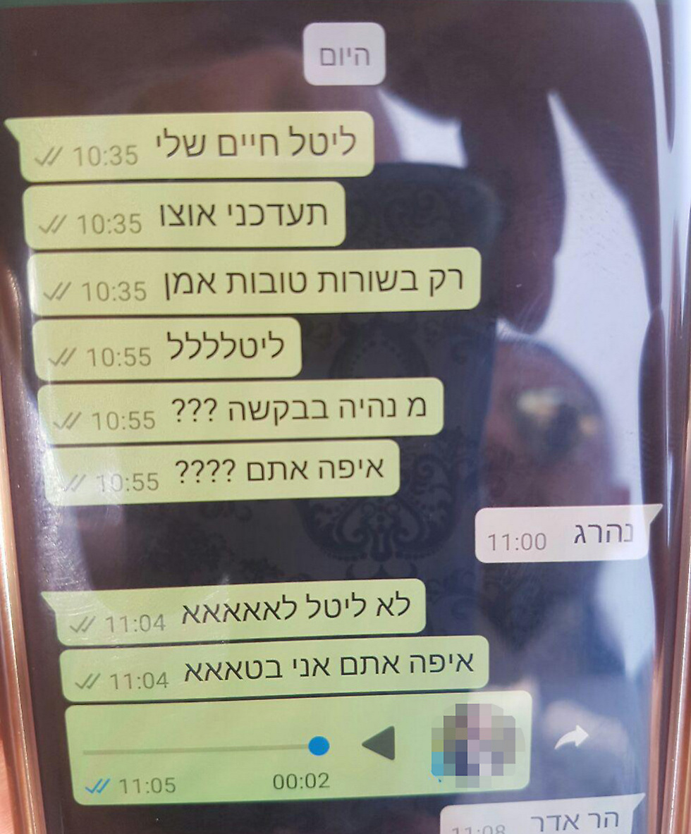 The text message exchange between Arish's friend and his sister