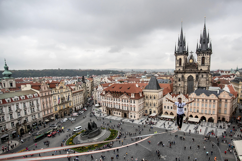 Prague, Kafka's hometown