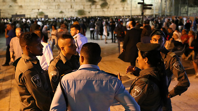 Security forces in Jerusalem (Photo: Ofer Meir)