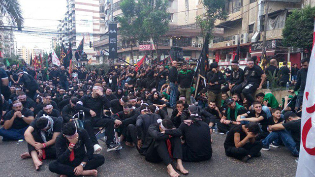 Ashura commemorations in Beirut
