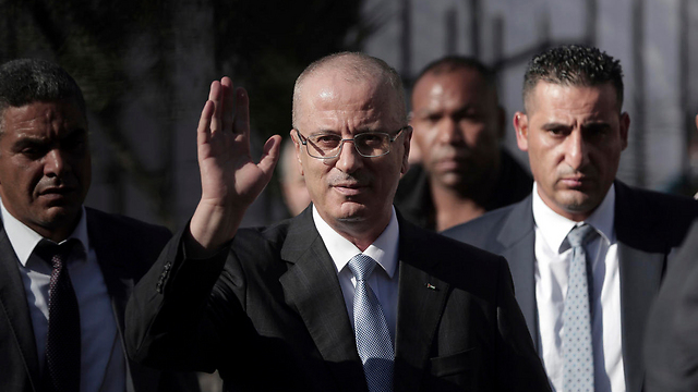 Palestinian PM Rami Hamdallah said Hamas had not transferred moneys as agreed in the deal (Photo: AP)
